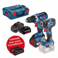 Įrankių rinkinys Bosch GSR 18V-6 0C+GDR 18V-200 C