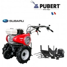 Benzininis motoblokas Pubert su padargais  FPVARIO60SC2+ROMAXI+RATA
