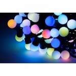 Spalvotos LED girliandos 100 vnt ir 200vnt lempučių