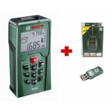 Skaitmeninis lazerinis atstumų matuoklis Bosch PLR 25.