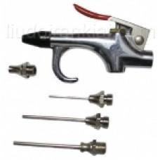 Prapūtimo pistoletas ir antgalių rinkinys (5vnt.)